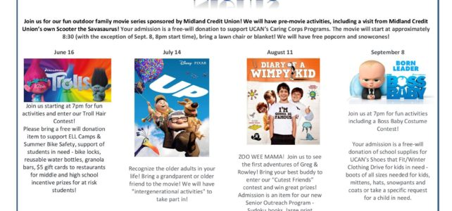 UCAN's Midland Movie Nights