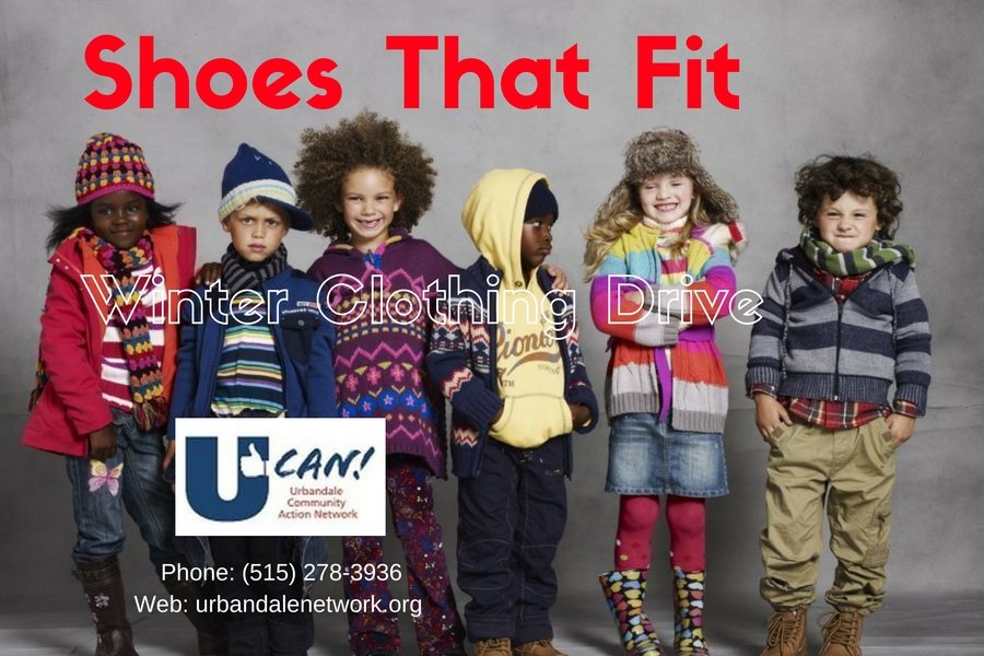 Winter Clothing Drive - Shoes That Fit