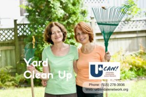 UCAN Yard Clean Up