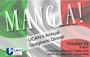 UCAN's Annual Spaghetti Dinner