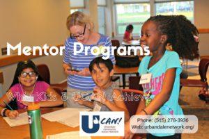 UCAN Mentor Programs